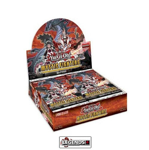 YUGI-OH  -  MYSTIC FIGHTERS   Booster Box [24 Packs]