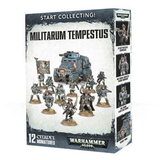 WARHAMMER 40K - START COLLECTING - MILITARUM TEMPESTUS