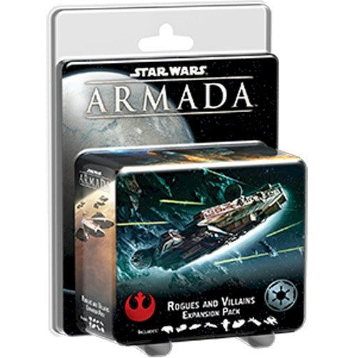 STAR WARS - ARMADA - Rogues & Villains Expansion Pack