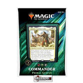 MAGIC COMMANDER - 2019 -  PRIMAL GENESIS DECK