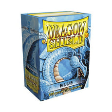 DRAGON SHIELD DECK SLEEVES - Dragon Shield • Classic Blue