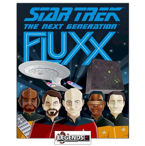 FLUXX - STAR TREK - THE NEXT GENERATION