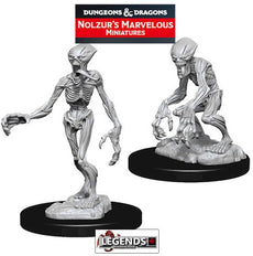 Deep Cuts Unpainted Miniatures:  DOPPLEGANGERS #WZK73549
