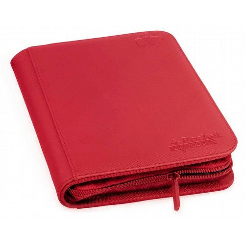 ULTIMATE GUARD - Zipfolio XenoSkin™ 4-Pocket - RED