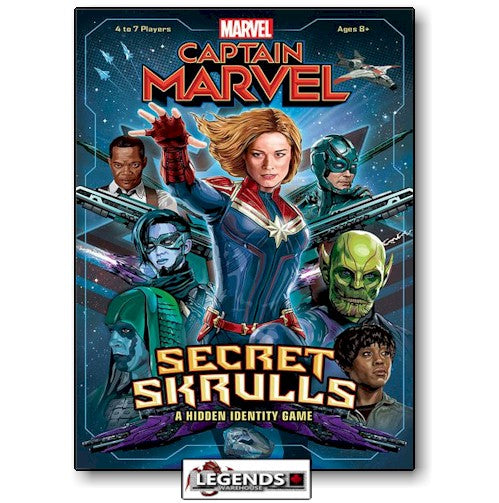 CAPTAIN MARVEL - SECRET SKRULLS
