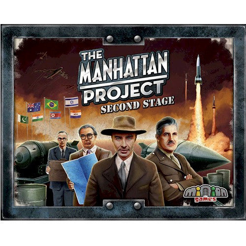 THE MANHATTAN PROJECT - SECOND STAGE