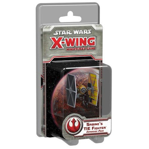 STAR WARS - X-WING - Sabine's TIE Fighter Expansion Pack