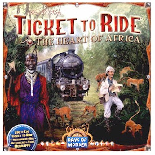 TICKET TO RIDE - Map Collection: Volume 3 - The Heart of Africa