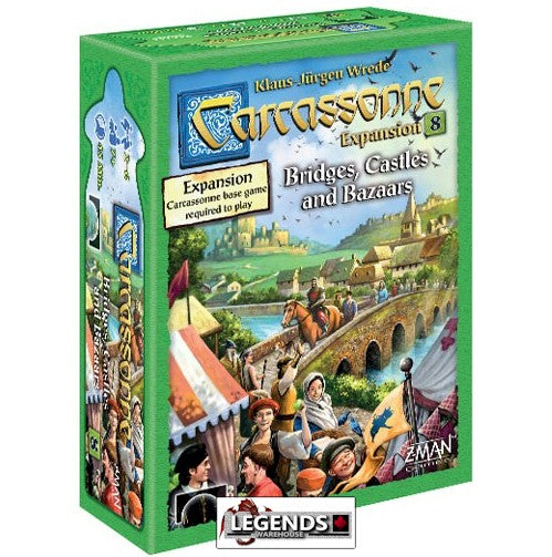 CARCASSONNE -  Bridges, Castles, & Bazaars (New Edition)