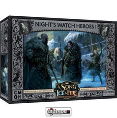A Song of Ice & Fire: Tabletop Miniatures Game -  Night's Watch Heroes #1  #CMNSIF309