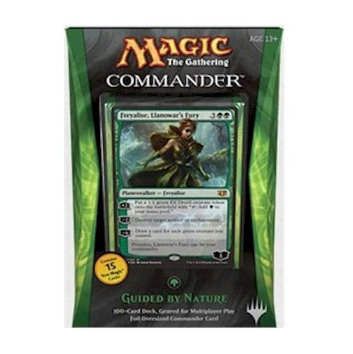 MAGIC COMMANDER - 2014 - GUIDED BY NATURE