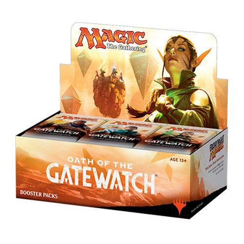 MTG - OATH OF THE GATEWATCH BOOSTER BOX - ENGLISH