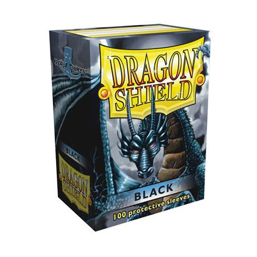 DRAGON SHIELD DECK SLEEVES - Dragon Shield • Classic Black