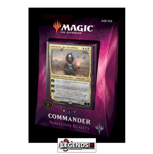 MAGIC COMMANDER - 2018 - Subjective Reality