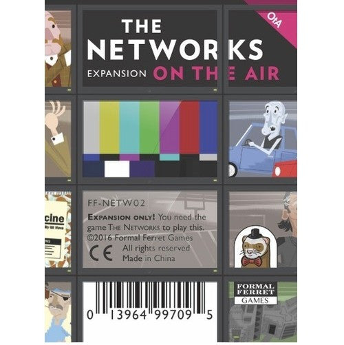 THE NETWORKS - ON THE AIR EXPANSION