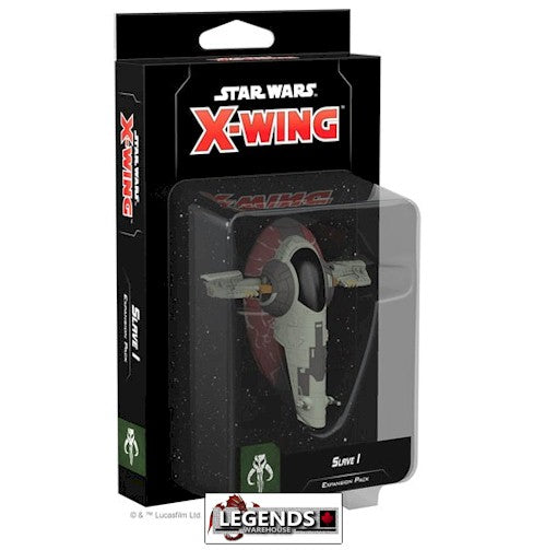 STAR WARS - X-WING - 2ND EDITION  - Slave I Expansion Pack