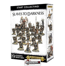 WARHAMMER AGE OF SIGMAR - START COLLECTING - SLAVES TO DARKNESS