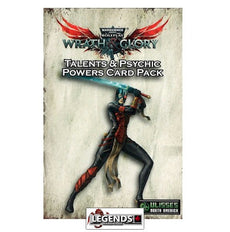 WARHAMMER 40K: WRATH AND GLORY - Talents & Psychic Powers Card Pack