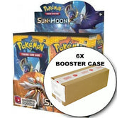 POKEMON - Sun & Moon 6 Booster Box CASE