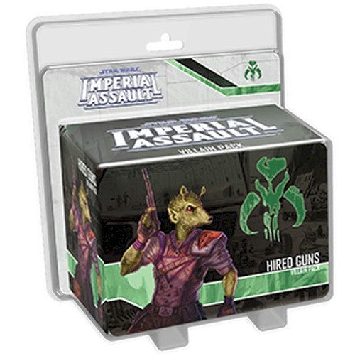 STAR WARS - IMPERIAL ASSAULT - Hired Guns Villain Pack
