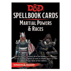 DUNGEONS & DRAGONS - 5th ED RPG - Spellbook Cards - Martial Powers & Races (Version 3)