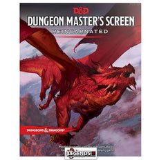 DUNGEONS & DRAGONS - 5th Edition RPG:  Dungeon Master's Screen - Reincarnated