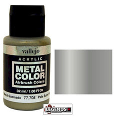 Vallejo Metal Color: Pale Burnt Metal Product #VAL 77704