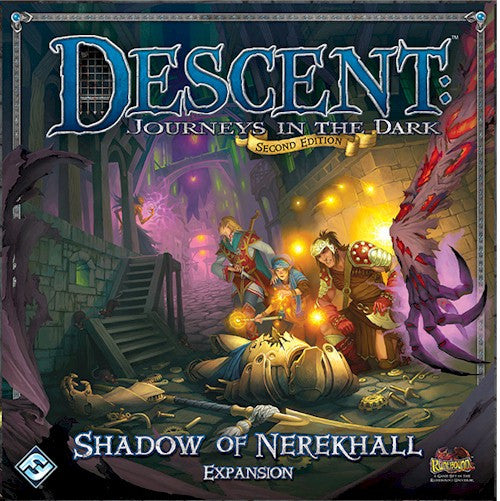 DESCENT 2nd EDITION - Shadow of Nerekhall