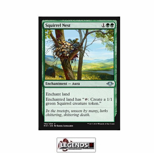 Squirrel Nest - Modern Horizons