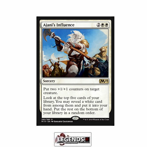 Ajani's Influence - Core Set 2019