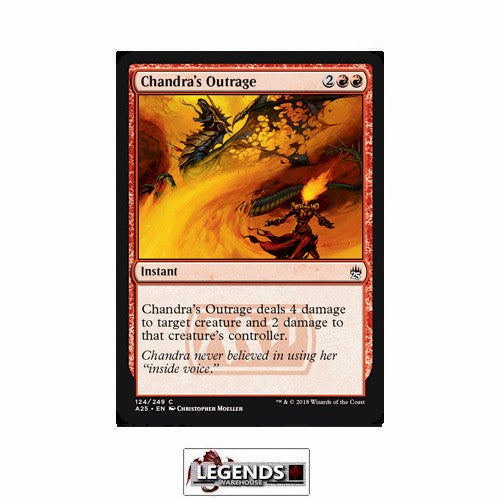 Chandra's Outrage - Masters 25