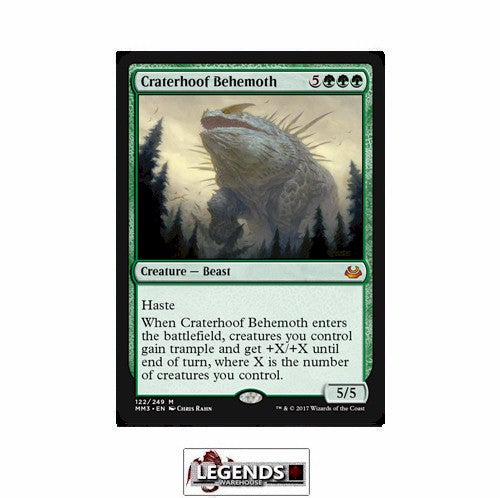 Craterhoof Behemoth - Modern Masters 2017