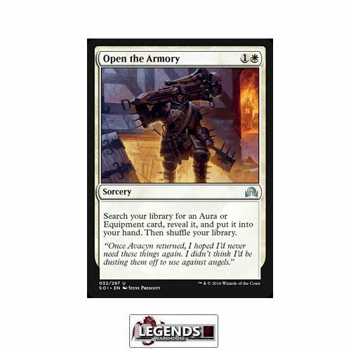 Open the Armory - Shadows Over Innistrad