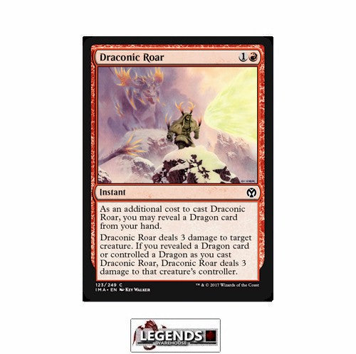 Draconic Roar - Iconic Masters
