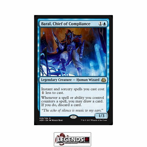 Baral, Chief of Compliance - Aether Revolt