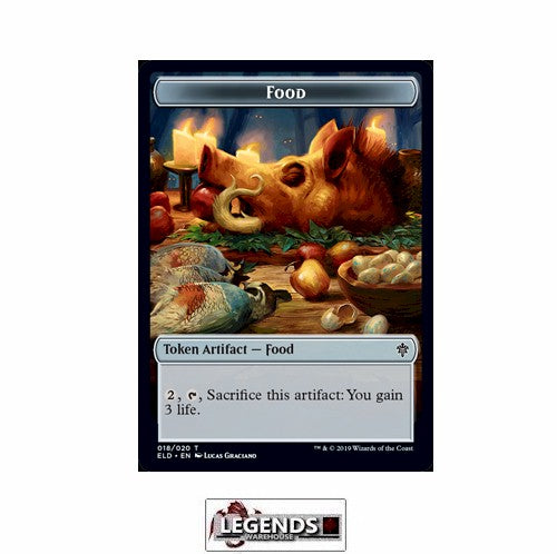 Food (Token) (#18) - Throne of Eldraine