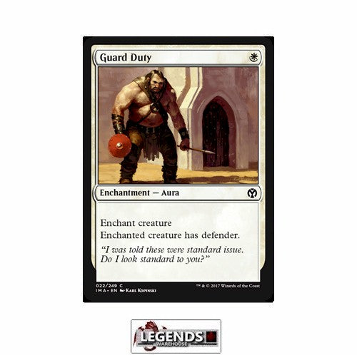 Guard Duty - Iconic Masters