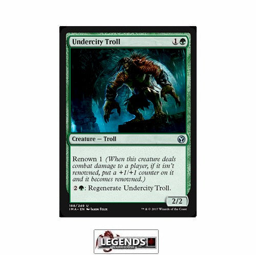 Undercity Troll - Iconic Masters
