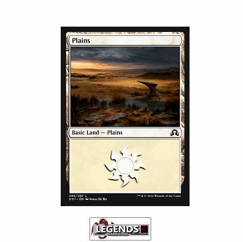 Plains (283) - Shadows Over Innistrad