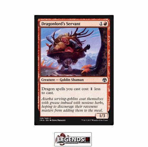Dragonlord's Servant - Iconic Masters