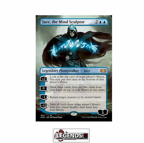 Jace, the Mind Sculptor (Box Topper) - Double Masters