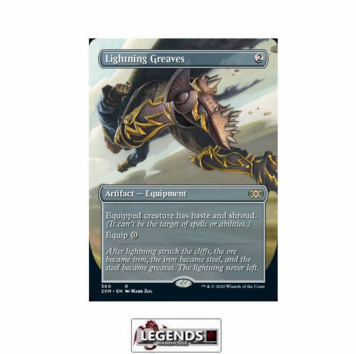 Lightning Greaves (Box Topper) - Double Masters