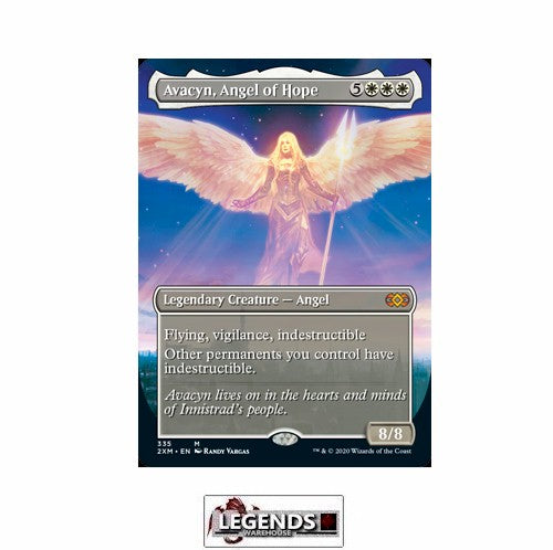 Avacyn, Angel of Hope (Box Topper) - Double Masters
