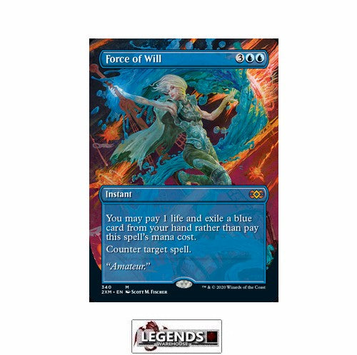 Force of Will (Box Topper) - Double Masters