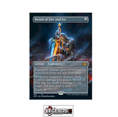 Sword of Fire and Ice (Box Topper) - Double Masters