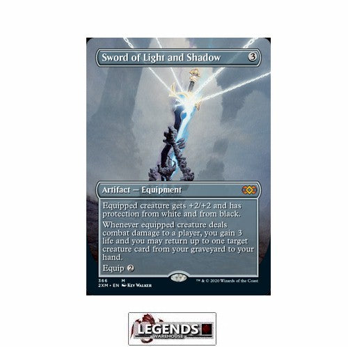 Sword of Light and Shadow (Box Topper) - Double Masters