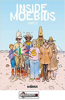 GRAPHIC NOVELS - DARK HORSE - Moebius Library: Inside Moebius Part 3 HC