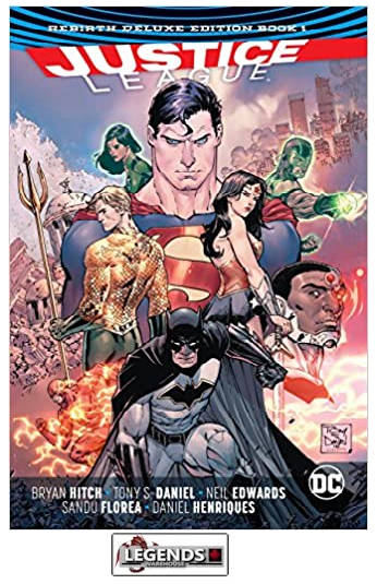 GRAPHIC NOVELS - D.C. - Justice League: The Rebirth Deluxe Edition Book 1 HC