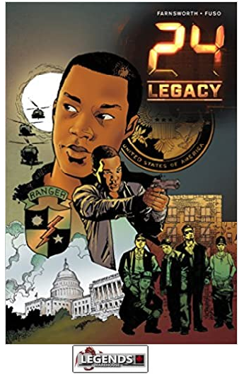 GRAPHIC NOVELS - INDEPENDENTS - IDW - 24 Legacy - Rules of Engagement PB