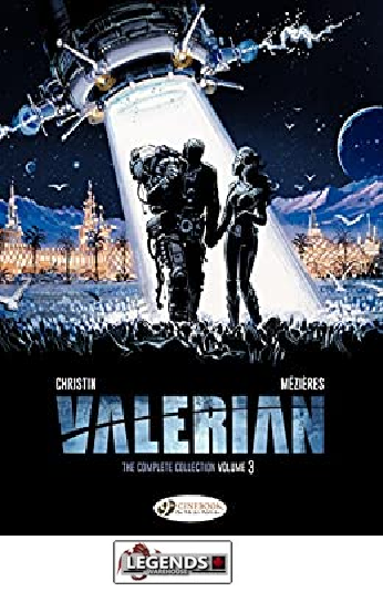 GRAPHIC NOVELS - INDEPENDENTS - Cinebook -  Valerian - The Complete Collection - Volume 3 HC